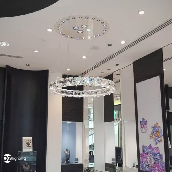 Diamond Chandelier